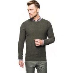 Sweter cilian półgolf oliwkowy. Zielone swetry klasyczne męskie Recman, m, z golfem. Za 219,00 zł.