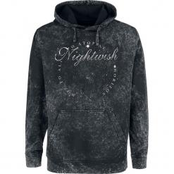 Nightwish Woe To All Bluza z kapturem odcienie ciemnoszarego. Szare bluzy męskie rozpinane Nightwish, m, z nadrukiem, z kapturem. Za 184,90 zł.