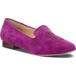 Lordsy LAUREN RALPH LAUREN - Coleena 802718247002 Purple. Fioletowe lordsy damskie Lauren Ralph Lauren, ze skóry. W wyprzedaży za 369,00 zł.