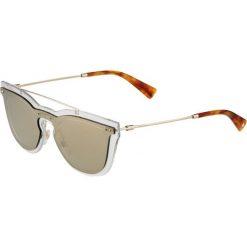 Okulary przeciwsłoneczne damskie aviatory: Valentino Okulary przeciwsłoneczne transparent