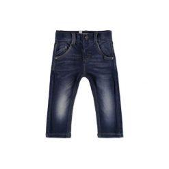 NAME IT Boys Spodnie Jeans NITRALF dark denim. Czarne spodnie chłopięce Name it, z bawełny. Za 83,63 zł.