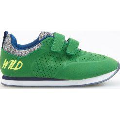 Buty skate męskie: Sportowe buty na rzep - Zielony