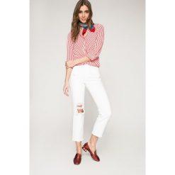 Vero Moda - Bluzka. Szare bluzki z odkrytymi ramionami Vero Moda, l, z materiału, casualowe. W wyprzedaży za 79,90 zł.