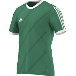 Adidas Koszulka piłkarska męska Tabela 14 zielono-biała r. L (G70676). Białe t-shirty męskie marki Adidas, l, z jersey, do piłki nożnej. Za 55,00 zł.