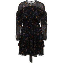 Rebecca Minkoff PORTIA DRESS Sukienka letnia black. Czarne sukienki letnie marki Rebecca Minkoff, z materiału. W wyprzedaży za 647,40 zł.