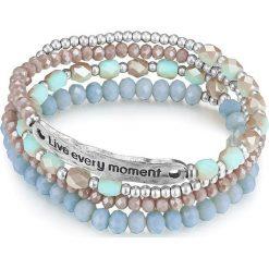 Biżuteria i zegarki: Bransoletka ze szklanymi kryształkami