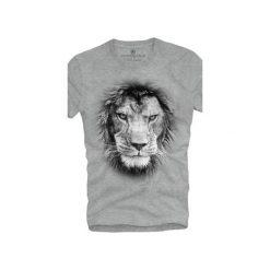 T-shirt UNDERWORLD Ring spun cotton Lion. Szare t-shirty męskie z nadrukiem marki Underworld, m, z bawełny. Za 59,99 zł.