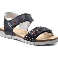 Sandały dziewczęce: Sandały BARTEK – 39183/05R Niebiesko Biały