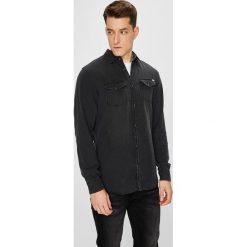 Jack & Jones - Koszula. Czarne koszule męskie na spinki Jack & Jones, l, z długim rękawem. W wyprzedaży za 139,90 zł.
