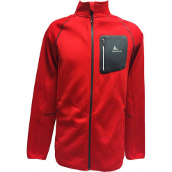 Kurtka polarowa w kolorze czerwonym. Czerwone kurtki męskie marki Peak Mountain, m, z materiału. W wyprzedaży za 96,95 zł.