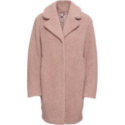 """Płaszcz """"baranek"""" bonprix stary jasnoróżowy. Czerwone płaszcze damskie bonprix, retro. Za 269,99 zł."""