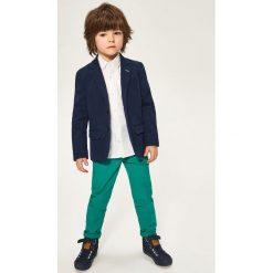 Chinosy chłopięce: Spodnie chino - Zielony