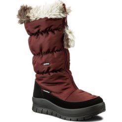 Śniegowce damskie: Śniegowce MANITU - 991174 Bordeaux 41