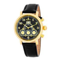 """Zegarki męskie: Zegarek """"Bridgeport"""" w kolorze czarno-złotym"""