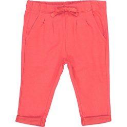 Spodnie z moltonu, jednokolorowe, 1 mies. - 3 lata. Różowe spodnie dresowe dziewczęce La Redoute Collections, z bawełny. Za 35,24 zł.