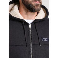 Abercrombie & Fitch Bluza rozpinana dark grey. Szare bluzy męskie rozpinane Abercrombie & Fitch, m, z bawełny. W wyprzedaży za 359,25 zł.