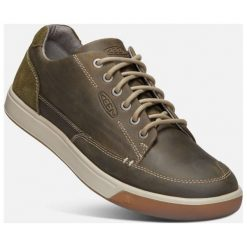 Keen Męskie Trampki Glenhaven Sneaker M, Canteen/Dark Olive, 42. Zielone trampki męskie marki Keen, ze skóry. Za 449,00 zł.