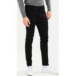 GStar DSTAQ 3D SUPER SLIM Jeansy Slim Fit black superstretch. Czarne jeansy męskie regular G-Star, z bawełny. W wyprzedaży za 548,10 zł.