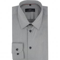 Koszula MARCO KDPS000028. Szare koszule męskie na spinki Giacomo Conti, m, z bawełny, button down, z długim rękawem. Za 199,00 zł.