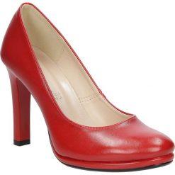 Czółenka na słupku Casu 1560. Różowe buty ślubne damskie Casu, na słupku. Za 99,99 zł.