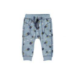 Name it Boys Spodnie Nittismal cerulean. Niebieskie spodnie chłopięce marki Name it, z bawełny. Za 44,00 zł.
