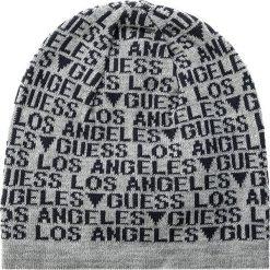 Czapka GUESS - City Slicker-Not Coordinated Wool M AM6521 WOL01 BLU. Niebieskie czapki damskie marki Guess, z materiału. W wyprzedaży za 109,00 zł.