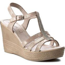 Sandały damskie: Sandały QUAZI – 2024-01 Różowy Jasny