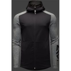 Bluzy męskie: Bluza męska Maciek Kot Collection BLM501 – czarny