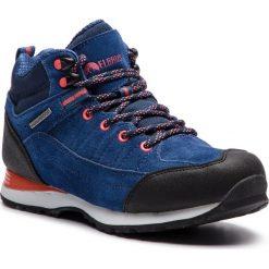 Trekkingi ELBRUS - Pissis Mid Wp Light Navy/Watermelon Red/Navy. Niebieskie buty trekkingowe damskie ELBRUS. W wyprzedaży za 239,00 zł.