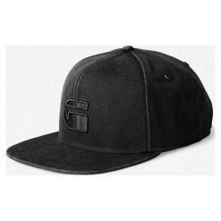 G-Star Raw - Czapka. Czarne czapki z daszkiem męskie G-Star RAW, z bawełny, retro. W wyprzedaży za 129,90 zł.