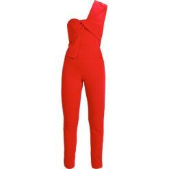 Kombinezony damskie: Lavish Alice ONE SHOULDERED TWISTED DETAIL Kombinezon red