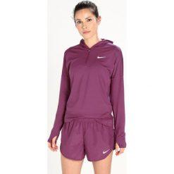 Nike Performance RUNNING HOODY DRY Koszulka sportowa tea berry/reflective silver. Fioletowe topy sportowe damskie Nike Performance, xs, z elastanu, z długim rękawem. W wyprzedaży za 142,45 zł.