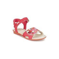 Sandały Dziecko  Camper  TWSS. Czerwone sandały dziewczęce Camper. Za 237,30 zł.