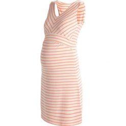 Sukienki hiszpanki: Boob SIMONE Sukienka z dżerseju offwhite/coral