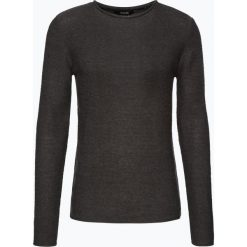 Solid - Sweter męski – Jarah, szary. Szare swetry klasyczne męskie Solid, m, z bawełny. Za 229,95 zł.