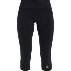 Spodnie dresowe damskie: Reebok CAPRI Rybaczki sportowe black