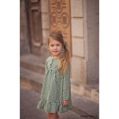 Sukienka Pine Cone. Zielone sukienki dziewczęce z falbanami Pakamera, z długim rękawem, długie. Za 169,00 zł.