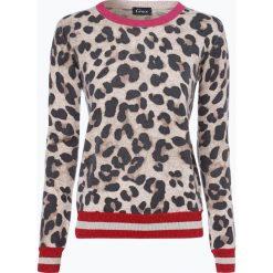 Grace - Sweter damski z dodatkiem kaszmiru, beżowy. Brązowe swetry klasyczne damskie Grace, m, z kaszmiru, z kontrastowym kołnierzykiem. Za 899,95 zł.