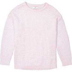 Sweter z okrągłym dekoltem oversize 10-16 lat. Fioletowe swetry chłopięce La Redoute Collections, z okrągłym kołnierzem. Za 96,98 zł.