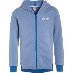 Bench HOODED ZIP THRU Bluza rozpinana palace blue. Szare bluzy dziewczęce rozpinane marki Bench, z bawełny, z kapturem. W wyprzedaży za 167,20 zł.