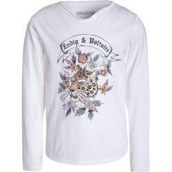 Bluzki dziewczęce bawełniane: Zadig & Voltaire Bluzka z długim rękawem weiss