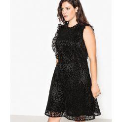 Sukienki hiszpanki: Koronkowa sukienka, rozkloszowana