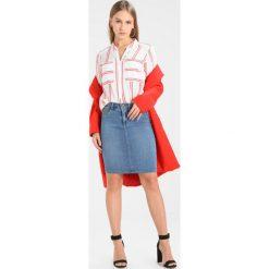 Bluzki asymetryczne: Vero Moda Petite VMERIKA DOUBLE STRIPE Bluzka snow white