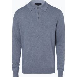 Andrew James - Sweter męski z dodatkiem kaszmiru, niebieski. Niebieskie swetry klasyczne męskie Andrew James, m, z kaszmiru. Za 249,95 zł.