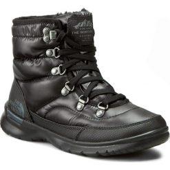 Śniegowce THE NORTH FACE - Thermoball Lace II T92T5LNSW Shiny TNF Black/Iron Gate Grey. Czarne buty zimowe damskie marki The North Face, z gumy. W wyprzedaży za 249,00 zł.