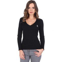 """Swetry klasyczne damskie: Sweter """"Deuce"""" w kolorze czarnym"""