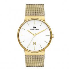"""Zegarek """"IQ05Q971"""" w kolorze złoto-białym. Białe, analogowe zegarki męskie NIXON & ESPRIT, ze stali. W wyprzedaży za 359,95 zł."""