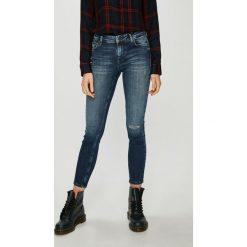 Only - Jeansy Allan. Niebieskie jeansy damskie rurki ONLY, z bawełny. Za 219,90 zł.
