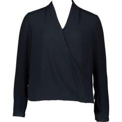 Topy sportowe damskie: Bluzka – Comfort fit – w kolorze granatowym