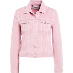 Bomberki damskie: 7 for all mankind MODERN TRUCKER Kurtka jeansowa ice dye pink